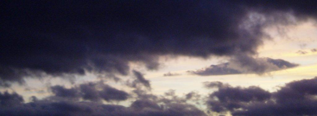 negative feedback like dark clouds