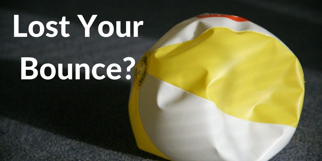 Deflated Ball--Lost your bounce?
