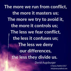 Is no conflict healthy