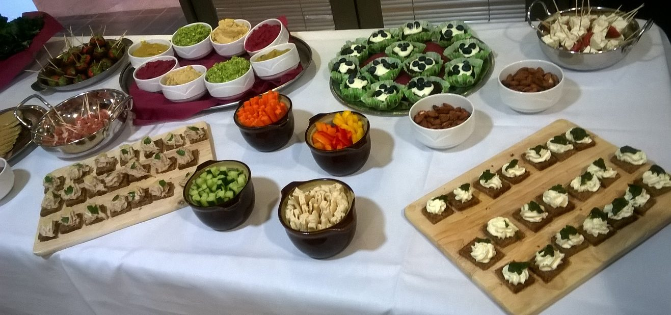 Asking for help healthy buffet