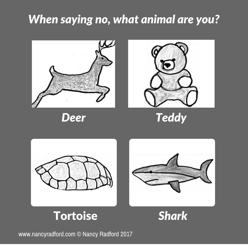 What kind of animal are you when you say no?