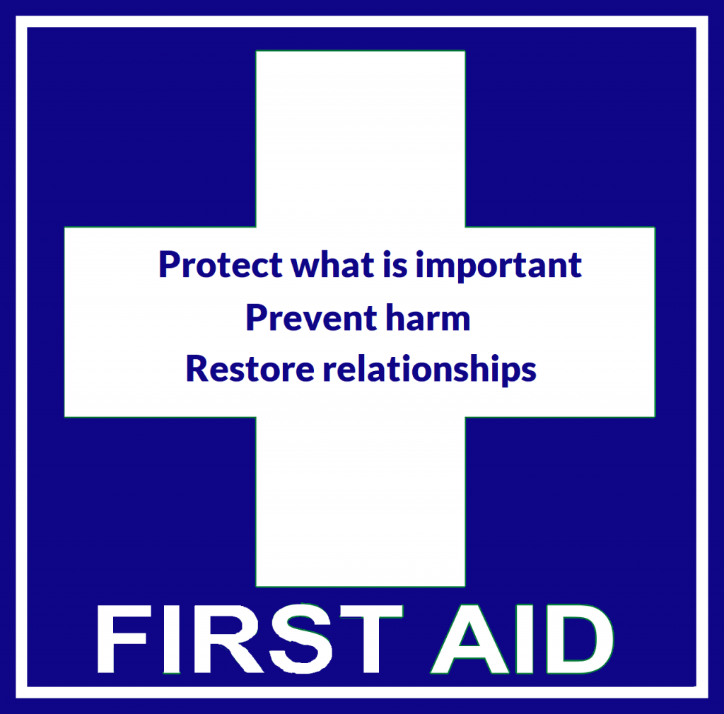 conflict first aid
