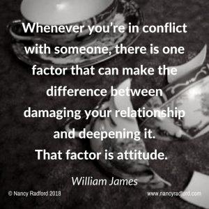 Damaging or restoring relationships