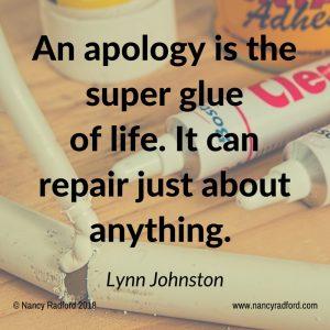 Restore relationships and repair damage