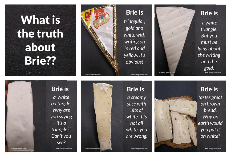What is the truth about Brie? Why can't they see the truth?