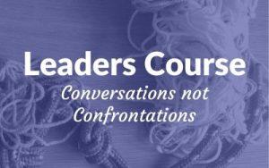 Conversations not confrontations