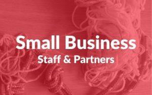 Small business partners staff
