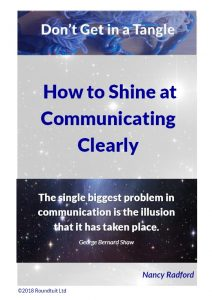 Shine at communicating Clearly