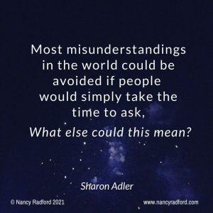 Reduce misunderstanding
